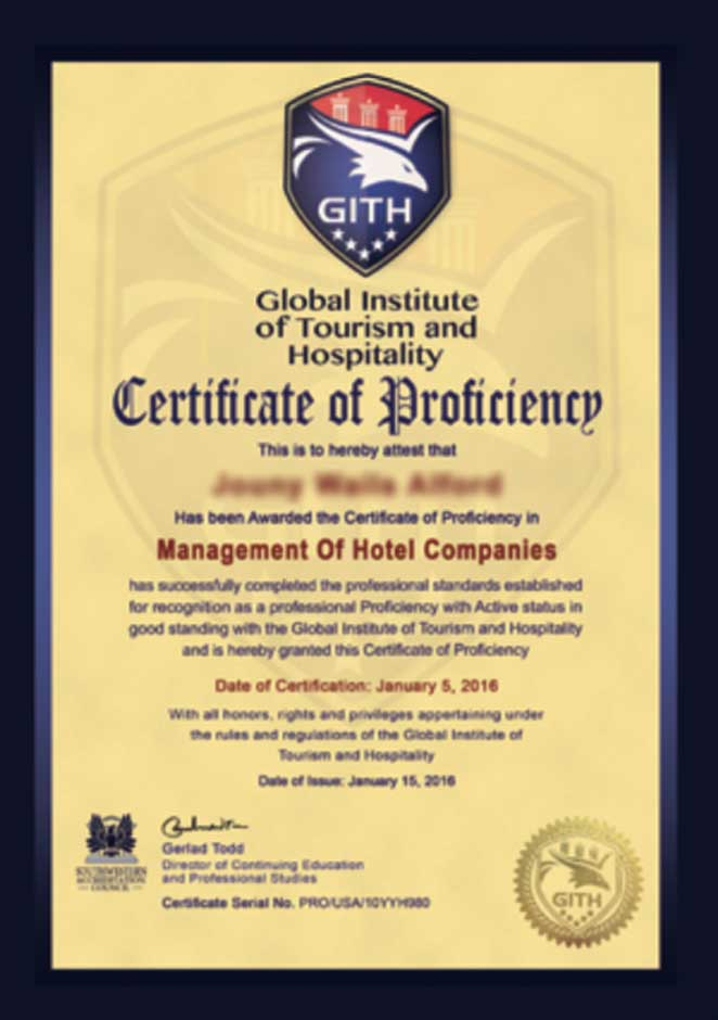 Global Institute of Tourism & Hospitality